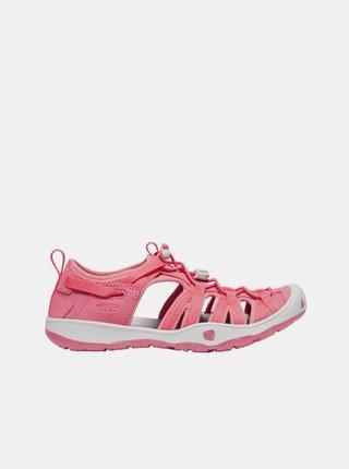 Růžové holčičí sandály Keen