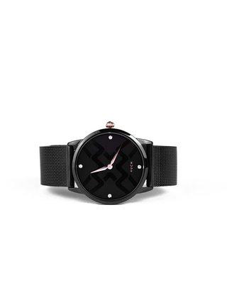 Vuch čierne hodinky Josette