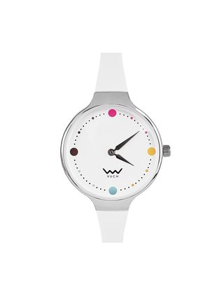Vuch biele hodinky Humorous