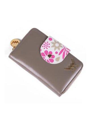 Vuch sivo-hnedá peňaženka Lola
