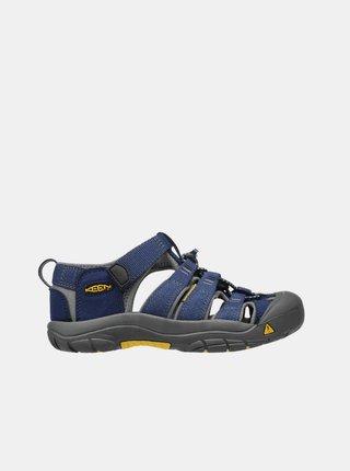 Tmavomodré detské sandále Keen
