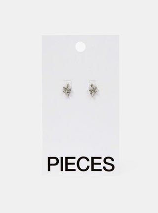 Náušnice pre ženy Pieces - strieborná