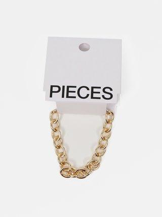 Náramok v zlatej farbe Pieces Aliza