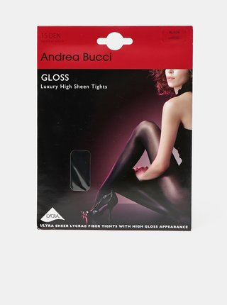 Černé punčochové kalhoty Andrea Bucci 20 DEN