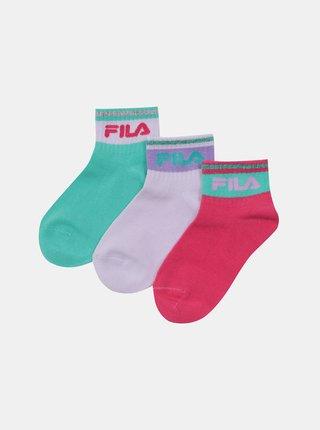FILA - ružová, zelená