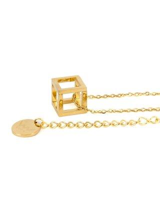 Vuch náhrdelník Cube Gold