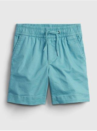 Modré klučičí dětské kraťasy easy pull-on shorts with Washwell