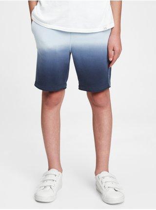 Modré klučičí dětské kraťasy GAP Logo pull-on shorts