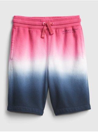 Barevné klučičí dětské kraťasy GAP Logo pull-on shorts