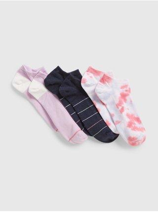 Barevné dámské ponožky fashion show socks, 2 páry