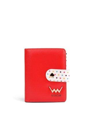 Vuch červená malá peněženka Poppyna