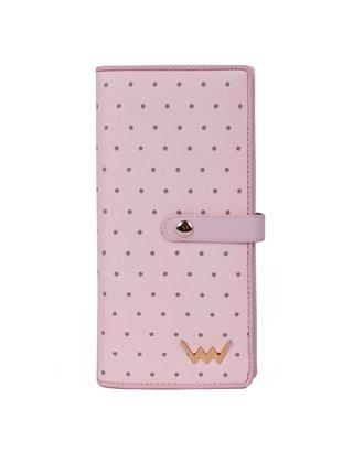 Vuch pudrově růžová peněženka Cora