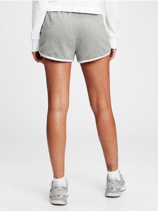 Šedé dámské kraťasy GAP Logo easy dolphin shorts