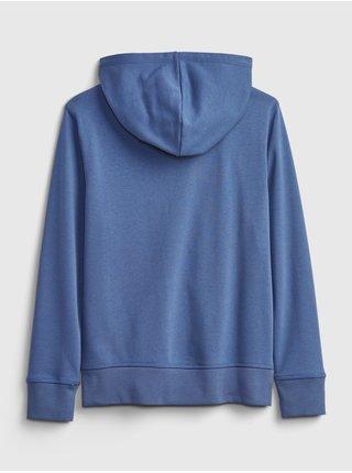 Modrá klučičí dětská mikina GAP Logo hoodie