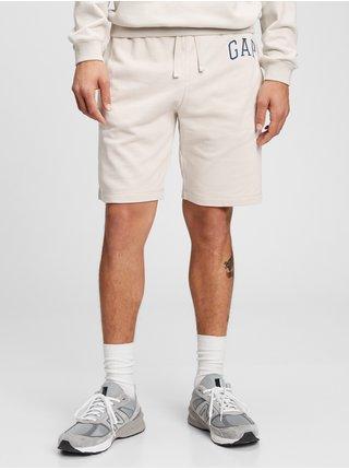 Šedé pánské kraťasy GAP Logo arch shorts
