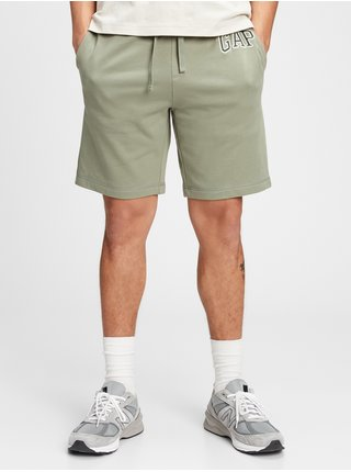 Zelené pánské kraťasy GAP Logo arch shorts