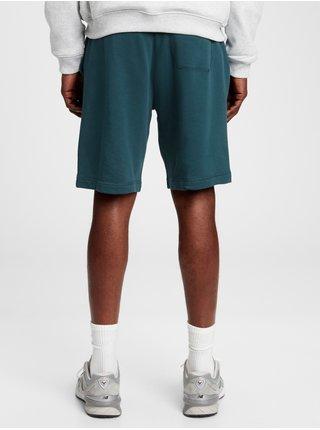 Modré pánské kraťasy GAP Logo arch shorts