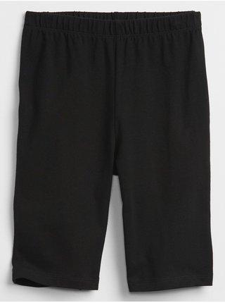 Černé holčičí dětské kraťasy bike shorts