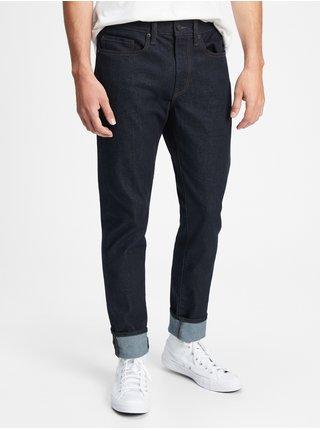 Modré pánské džíny all temp slim taper jeans with Washwell