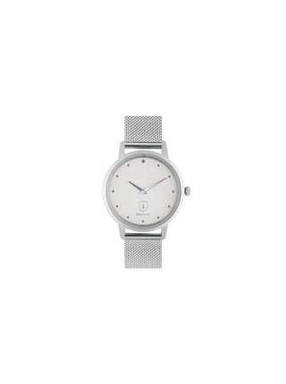 Dřevěné hodinky Diamond Sky Watch s řemínkem z pravé kůže
