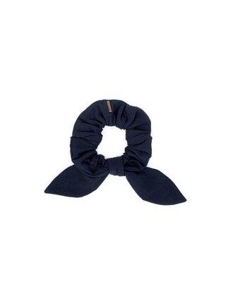 Látková gumička do vlasů Navy Rubber Band
