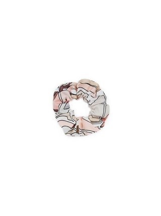 Látková gumička do vlasů Pastel Rubber Band