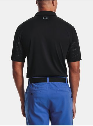 Tričko Under Armour Playoff 2.0 Blocked Polo - černá