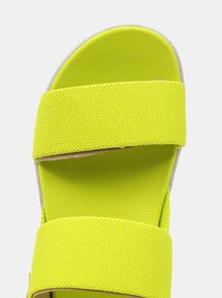 Zelené dámské sandály Keen