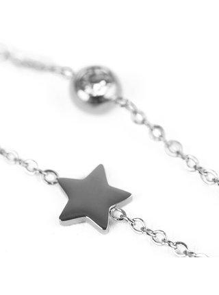 Náhrdelník ve stříbrné barvě Infinity Silver