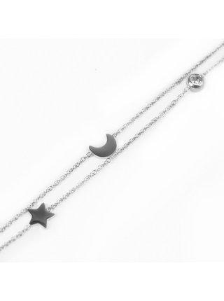 Dámský náramek ve stříbrné barvě Vuch- Infinity Silver