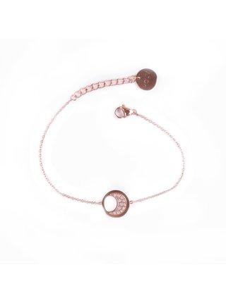 Dámský náramek v růžovozlaté barvě Vuch-Little Rose gold Moon