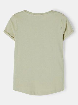 Zelené holčičí tričko s potiskem name it Vix