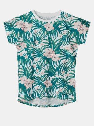 Zelené holčičí vzorované tričko name it Vigga