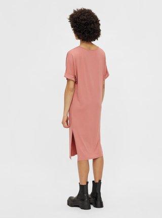 Voľnočasové šaty pre ženy Pieces - ružová