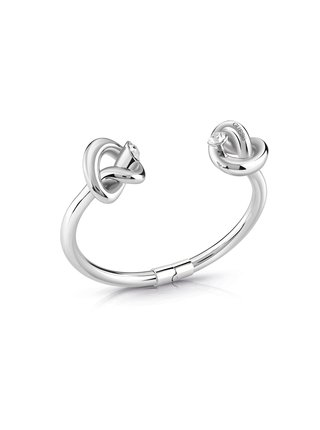 Guess stříbrný náramek Knot
