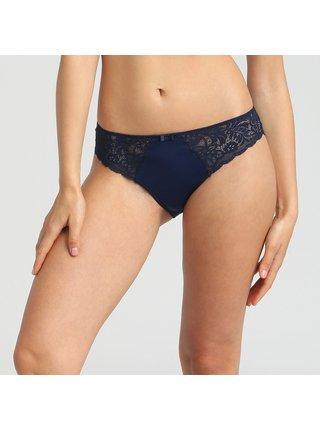 DIM SUBLIM SLIP - Dámské kalhotky - tmavě modrá
