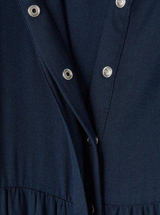 Tmavě modré holčičí košilové šaty name it Flora