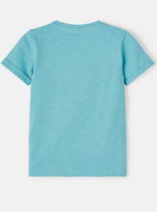 Modré klučičí tričko s kapsou name it Vincent