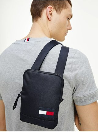 Tommy Hilfiger modré pánska taška Core Compact Crossover