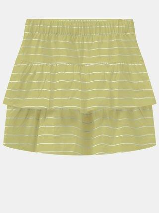 Žlutá holčičí pruhovaná sukně name it Vamaja