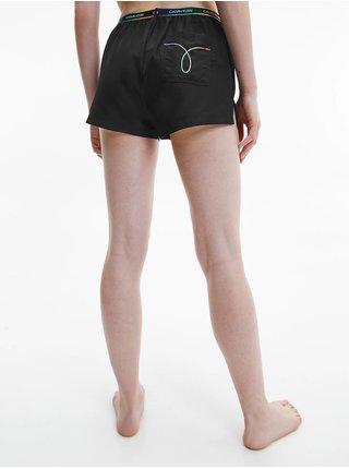 Calvin Klein čierne kraťasy Short