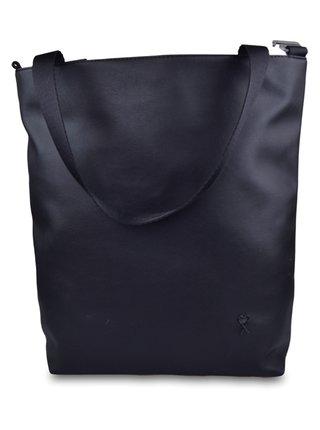 Xiss čierna multifunkčná kabelka Simply Black s dvomi popruhmi