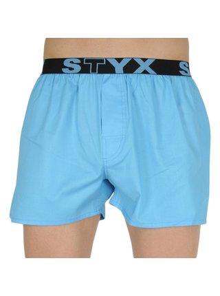 Pánské trenky Styx sportovní guma světle modré
