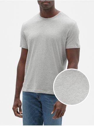 Šedé pánské tričko everyday crewneck t-shirt