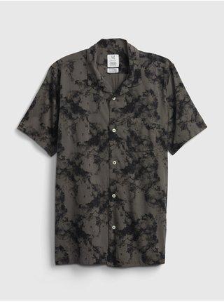 Černé klučičí dětské polo tričko teen camp shirt