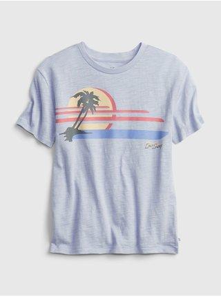 Modré klučičí dětské tričko Star Wars graphic t-shirt