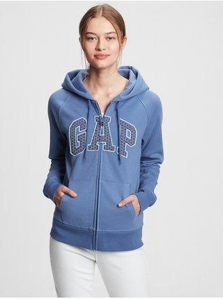 Modrá dámská mikina GAP Logoclassic novelty
