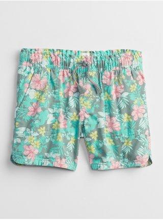 Barevné holčičí dětské kraťasy woven pull-on shorts