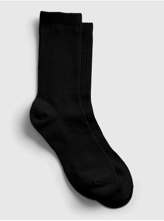 Černé pánské ponožky athletic crew socks