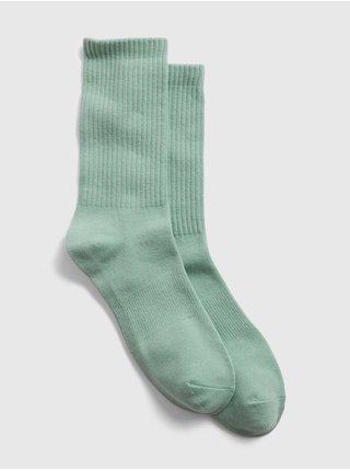 Zelené pánské ponožky athletic crew socks